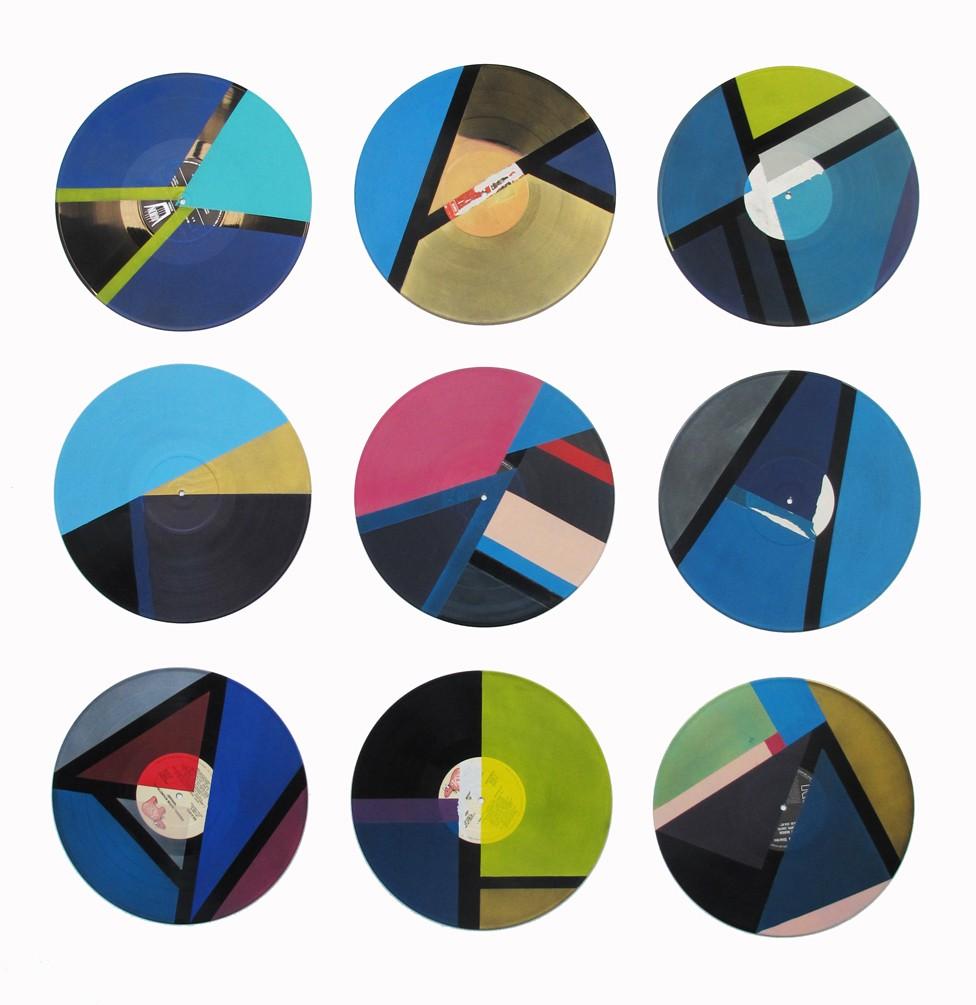 Installation de l'oeuvre de morgan le ruyet pour l'exposition collective aux beaux-arts de Bordeaux.