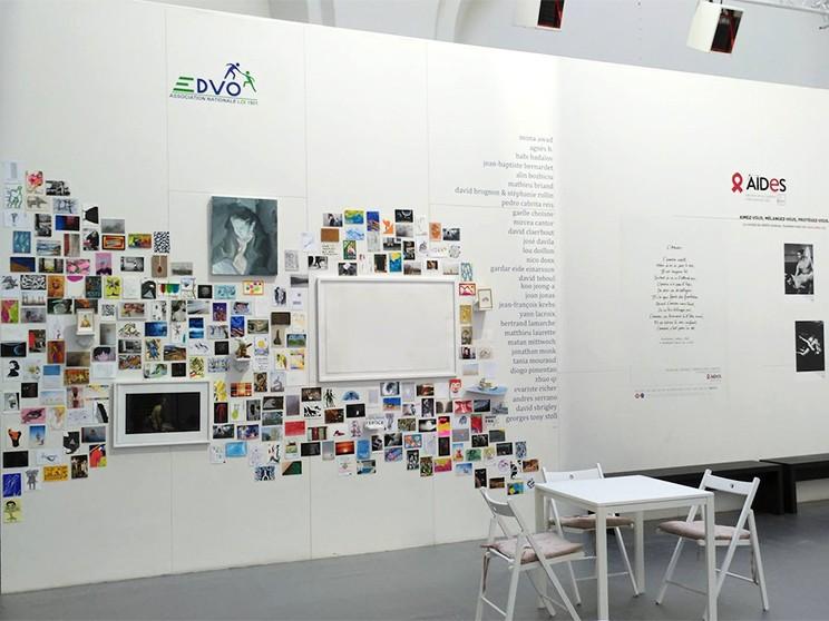 Exposition de Morgan Le Ruyet à la FIAC de Paris avec l'association EDVO.